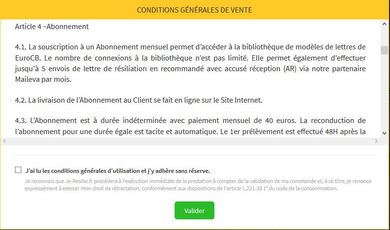 Connu Conseils pour bien résilier vos contrats et résiliation en ligne DM28